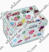 PVC-Box กล่องพลาสติก พีวีซี โครงเหล็ก