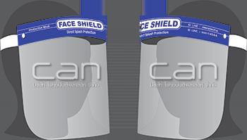 Face Shield หน้ากากกันกระเด็น ป้องกันสารคัดหลั่ง