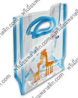 shopping bag PVC collection cartoon and premium gift