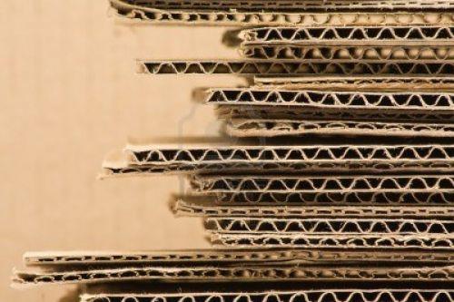 ความหนาของกระดาษลูกฟูกหรือกระดาษลอน3ชั้น,5ชั้น