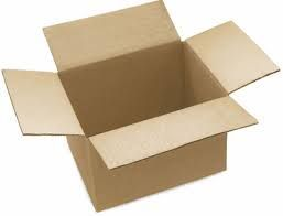 กล่องลูกฟูกหรือลังเบียร์หรือใส่สิ่งของ