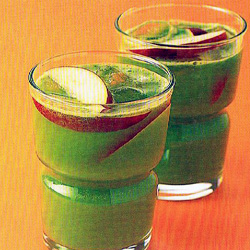 สูตร-วิธีการทำเครื่องดื่มน้ำผัก น้ำผลไม้ สูตรลดความเครียด แอปเปิ้ล-ผักกาดหอม