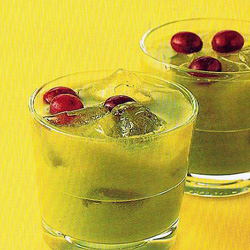 สูตร-วิธีการทำเครื่องดื่มน้ำผัก น้ำผลไม้ สูตรลดความเครียด องุ่นเขียว-ผักกาดหอม-ขิง