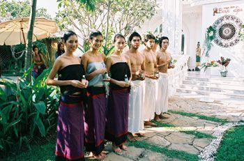 เบญจ สปา Banja Spa The Garden Home Spa - พนักงานคอยต้อนรับและบริการ