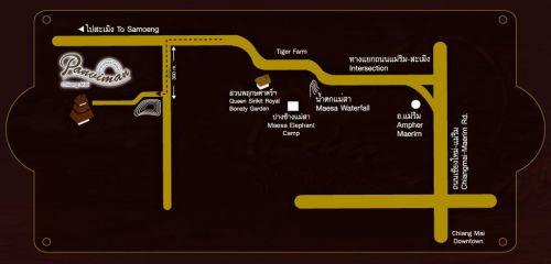 แผ่นที่ ปานวิมาน เชียงใหม่ สปา รีสอร์ท Panviman Spa Resort