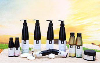 ผลิตภัณฑ์บำรุงเส้นผม Hair Care ของ โสรณา สปา หาดป่าตอง จ.ภูเก็ต Sovrana Spa