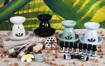 ผลิตภัณฑ์น้ำมันหอมระเหย Essential Oils ของ โสรณา สปา หาดป่าตอง จ.ภูเก็ต Sovrana Spa
