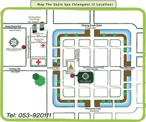 โอเอซิส สปา เชียงใหม่ Oasis Spa Chiangmai