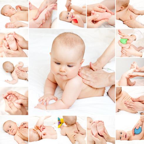 สูตร-วิธีการผสมผลิตภัณฑ์สปา- น้ำมันหอมระเหยสำหรับนวดเด็ก อายุ 6 เดือน ถึง 1 ปี