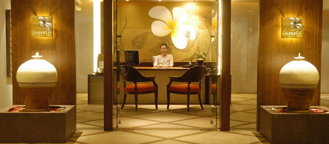 โปรโมชั่นส่วนลดพิเศษ:- โปรแกรมนวดอโรม่าและโปรแกรมนวดหน้า ที่ อิมพีเรียล สปา (Imperial Spa) ชั้น 9 โรงแรมอิมพีเรียลควีนส์ปาร์ค (Imperial Queen's Park Hotel)