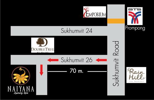 ประกาศรับสมัครพนักงานสปา: Naiyana Luxury Spa (สุขุมวิท กรุงเทพฯ)