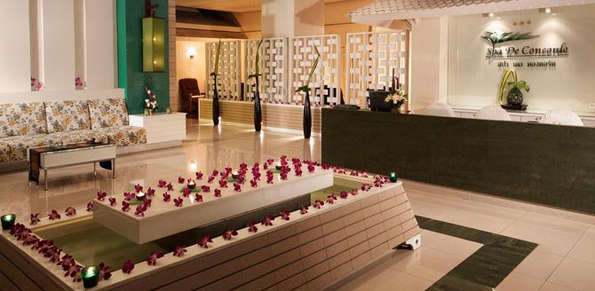 โปรโมชั่นส่วนลดพิเศษ:- แพคเกจสปาสุดคุ้ม ลด 50% สปา เดอ คองคอร์ด (Spa De Concorde) โรงแรมสวิสโฮเต็ล เลอ คองคอร์ด กรุงเทพฯ (Swissotel Le Concorde Bangkok)