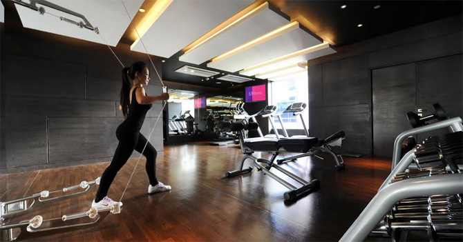ข่าวประชาสัมพันธ์โรงแรม: ฟิตแบบมีสไตล์...ที่ M Fitness, โรงแรมโหมด สาทร (Mode Sathorn Hotel)